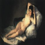 Francisco de Goya (1746-1828)  Nude Maja  Oil on canvas, c.1800  Museo del Prado, Madrid, Spain